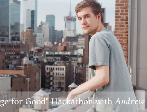 """Change for Good"" Hackathon with Andrew Pattee"