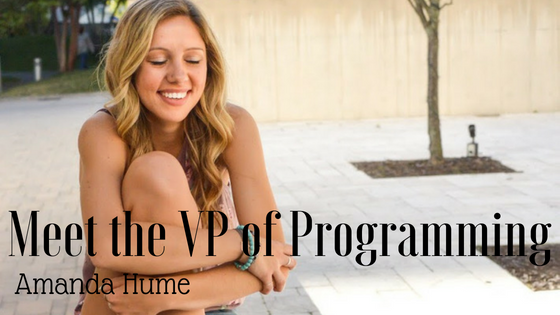 Meet the VP of Programming: Amanda Hume