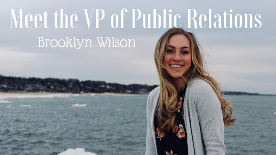 Meet the VP of Public Relations: Brooklyn Wilson