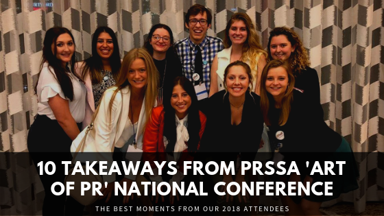 10 Takeaways from PRSSA 'Art of PR' National Conference