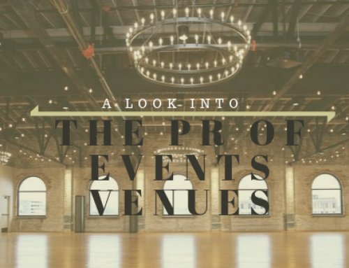 A Look into the PR of Events Venues