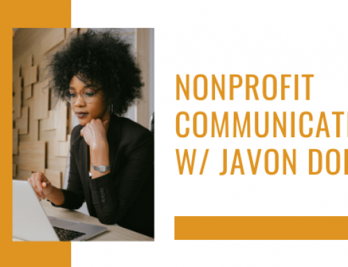 Nonprofit Communications w/ Javon Dobbs