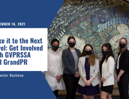 Take it to the Next Level: Get Involved with GVPRSSA and GrandPR